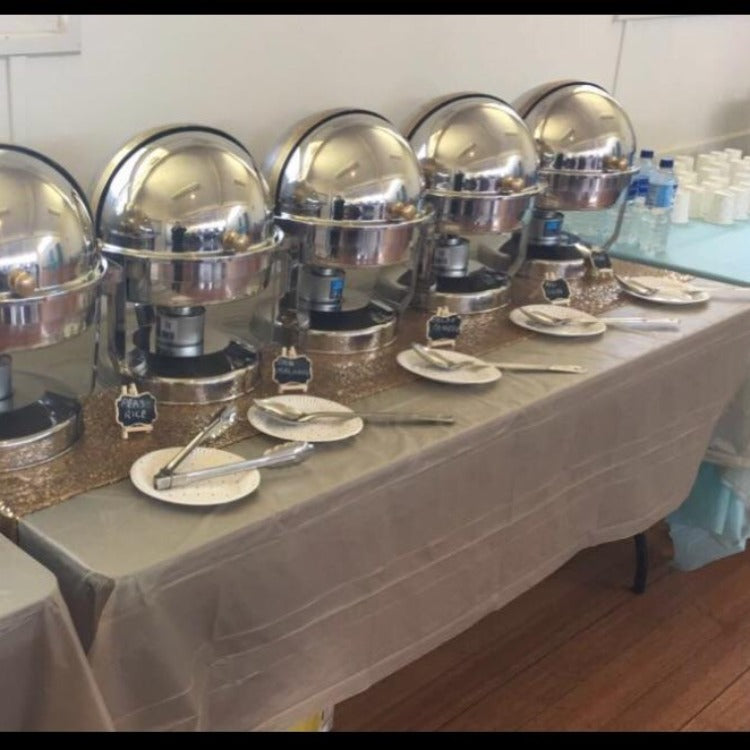 Buffet warmers round