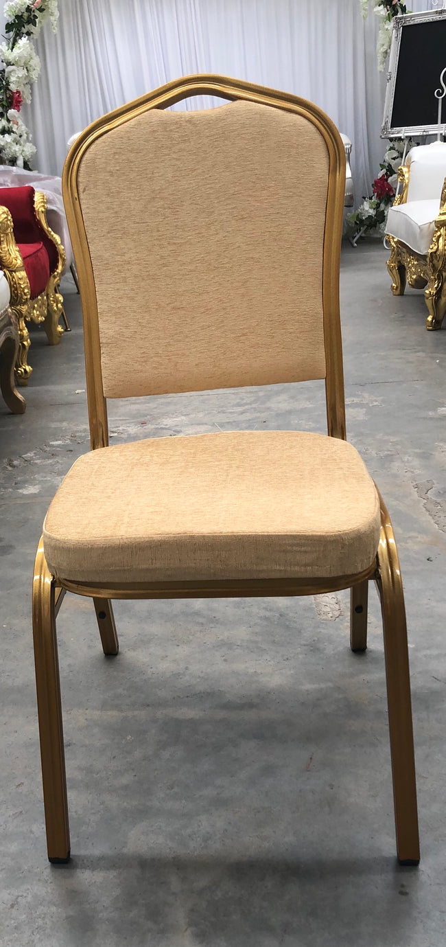 Banquet Chair - Gold
