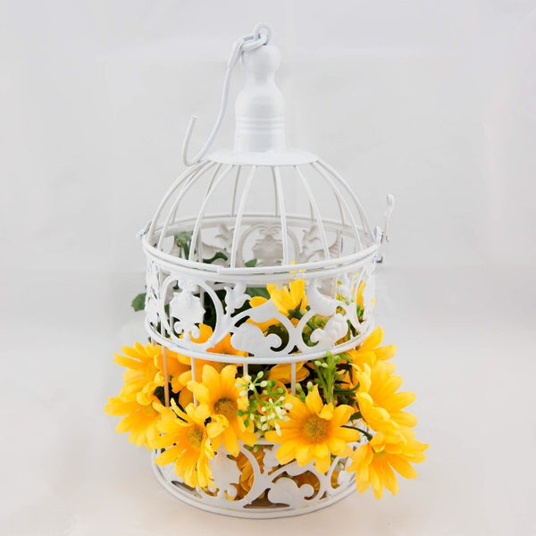 Small Birdcage - White - Prop
