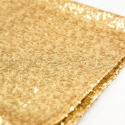 Tablecloth  gold sequence - Hire