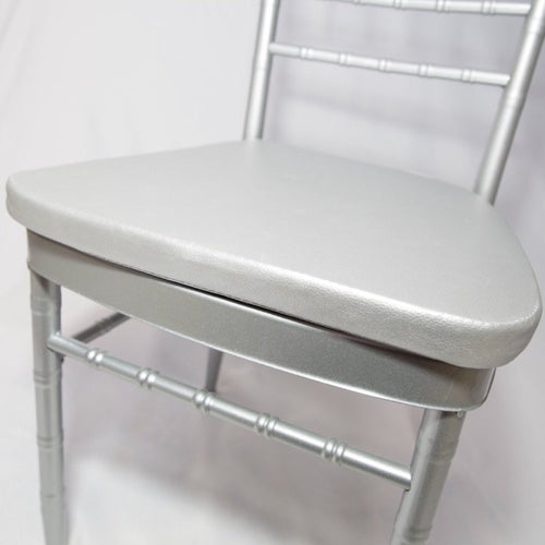 Tiffany Chair Cushion - Silver