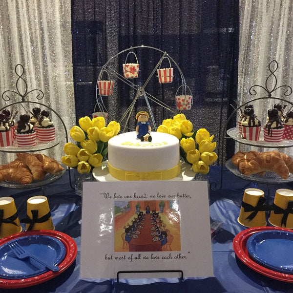 Party Package-Madeline theme