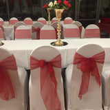 Organza Sash - Red