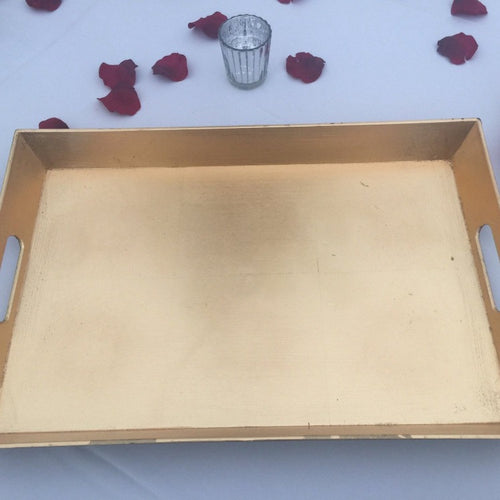 Rectangle Tray - Gold
