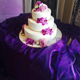Organza Sash - Purple