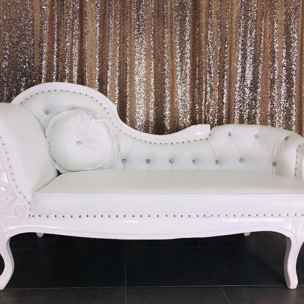 Chaise Lounge - White