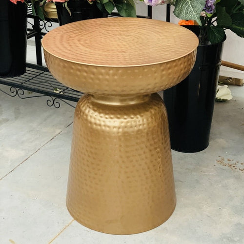 Metal Gold Tables