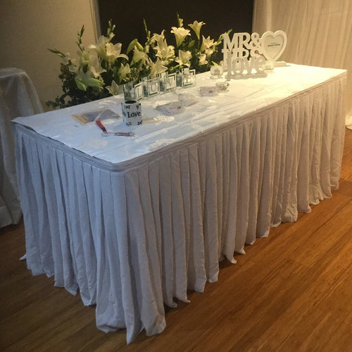 Chiffon Table Skirting