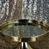 Cake Stand - Gold Mirror