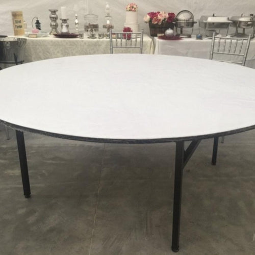 Round Trestle Table