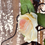 Peach/Ivory Rose Vine