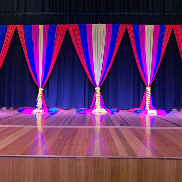 Backdrop Curtain - Grand Bollywood Package