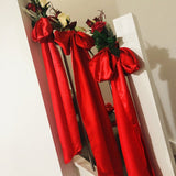 Satin Sash - Red