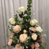 Peach and Ivory Floral Package