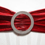 Lycra Sash - Metallic Red