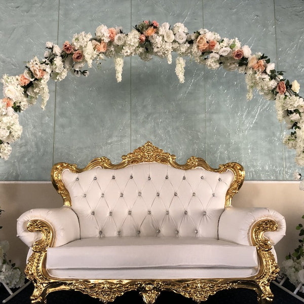 Stage Package - Sofa, Floral & Arch
