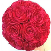 Red Rose flower ball  - Hire
