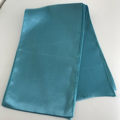 Satin Sash - Teal