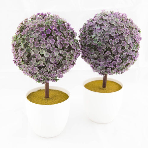 Flower Ball - Lavender Pot Set