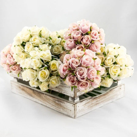 Rose Bouquet - Ivory
