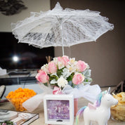 Lace Umbrella -hire
