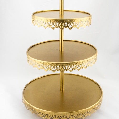 Cupcake Stand - Antique Gold