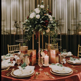 Metal Stand Centrepiece - Gold