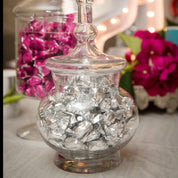 Candy jar round-hire