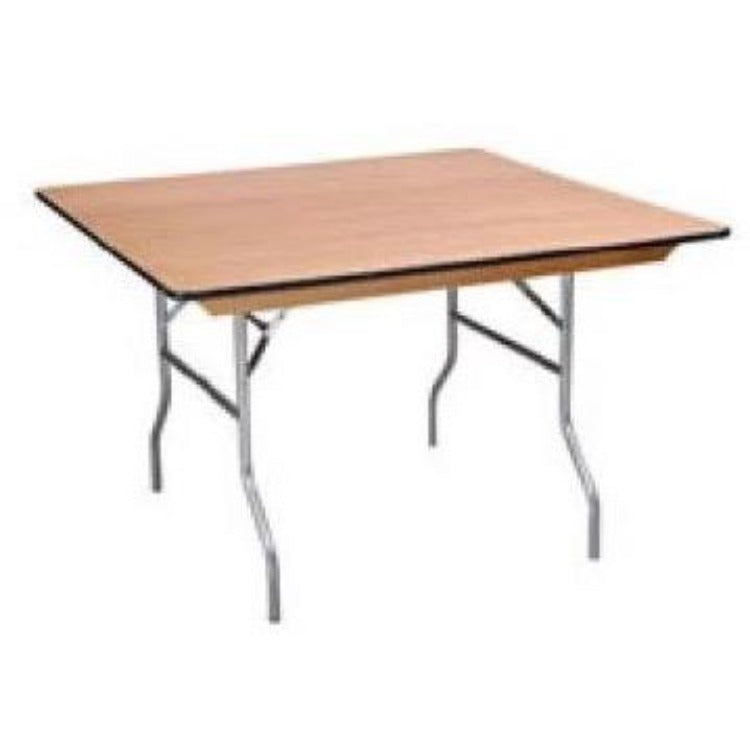 Table Wooden Square - Hire