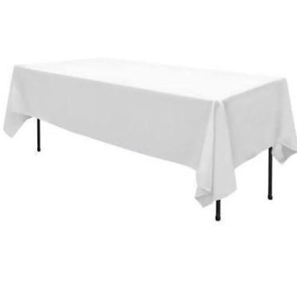 Rectangle Tablecloth - White