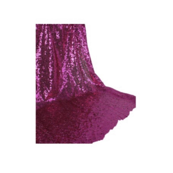 Backdrop Curtain - Fuchsia Sequin