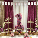 Gold Cake Stand Package