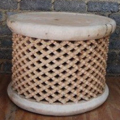 80cm dia x 45cm h - Natural traditional design