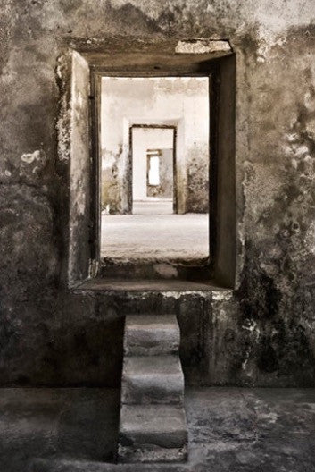 ARTWORK BALLAM 9E - ILHA56 SEPIA DOORWAYS (Port...