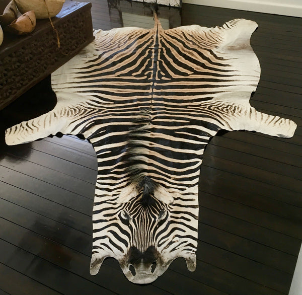 ZEBRA HIDE RUG (South Africa)