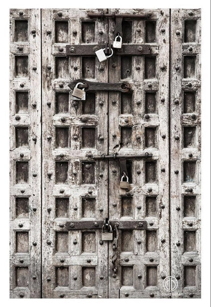 "ARTWORK BALLAM 21 - ZANZIBAR ""STONE TOWN OLD DOOR"" ..."