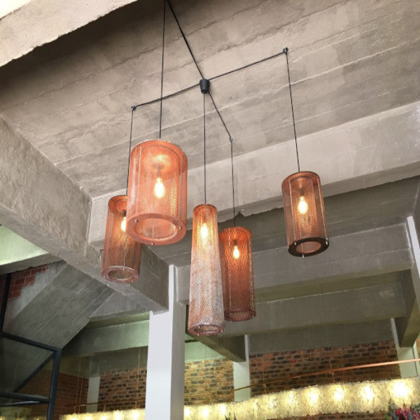 LIGHTING - STEPHEN PIKUS TRUK PENDANTS AND LAMPS