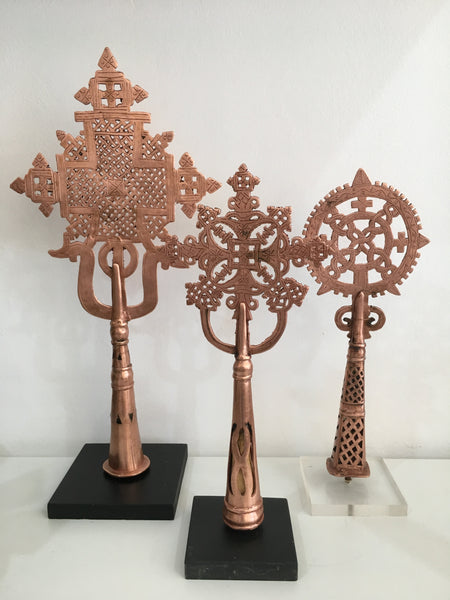 COPPER ETHIOPIAN COPTIC CROSS