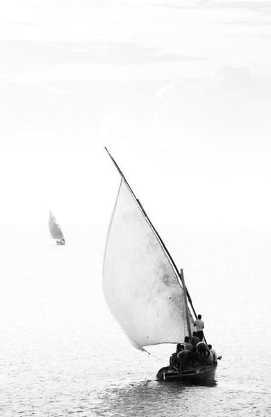 "ARTWORK BALLAM 1A - ILHA01 DHOW ""SAILING""  (Port..."