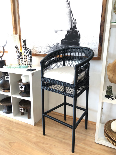MALAWI-STYLE OUTDOOR BARSTOOL - EXCLUSIVE NEW PRODUCT