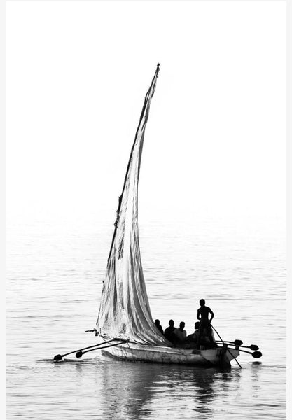 ARTWORK BALLAM 9A - MOZAMBIQUE DHOW