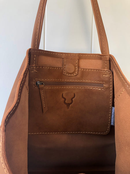 BAG - LEATHER TOTE