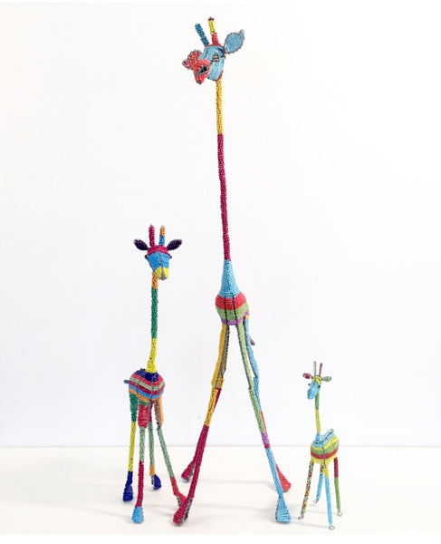 BEADED GIRAFFES (South Africa)