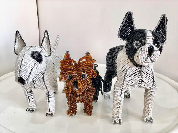 BEADED DOGS (South Africa)