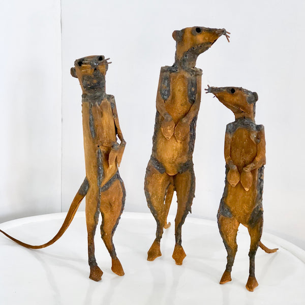 MEERKAT METAL SCULPTURES (South Africa)