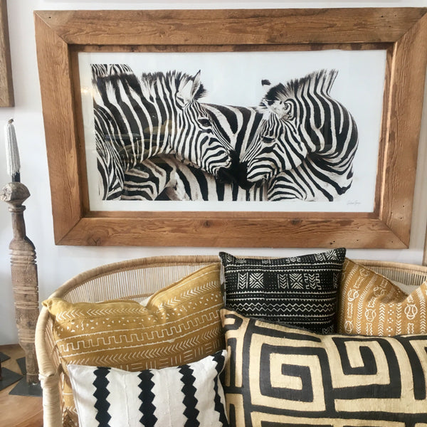 UNIQUE PHOTOGRAPHIC ART - ZEBRA LOVE