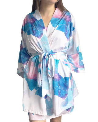Ostara Collection Bridesmaids Floral Robe