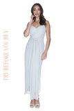 Try Before You Buy Bridesmaids Dress Chloe in Powder Blue