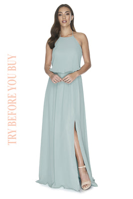 Try Before You Buy Bridesmaids Dress Jesinta in Ceil Blue