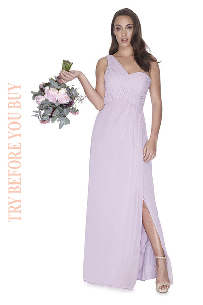 Try Before You Buy Bridesmaids Dress Millie in Melted Mauve